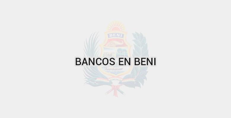 Bancos en Beni