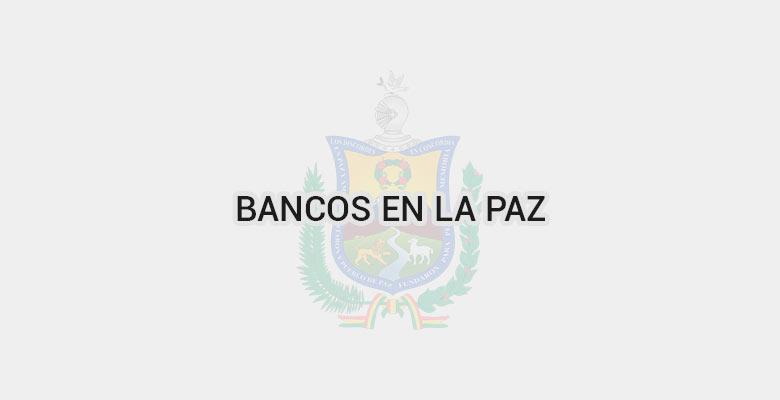 Bancos en La Paz