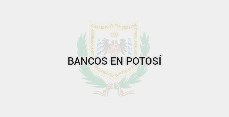 Bancos en Potosí
