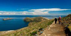 Caminata en la Isla de Sol