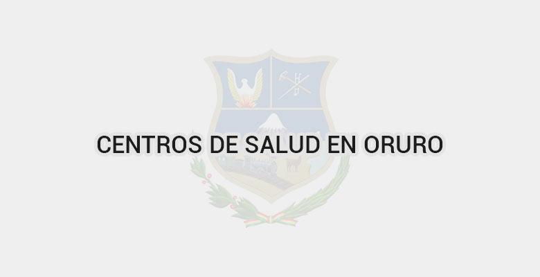 Centros de salud en Oruro