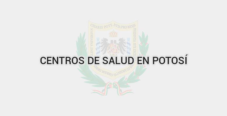 Centros de salud en Potosí