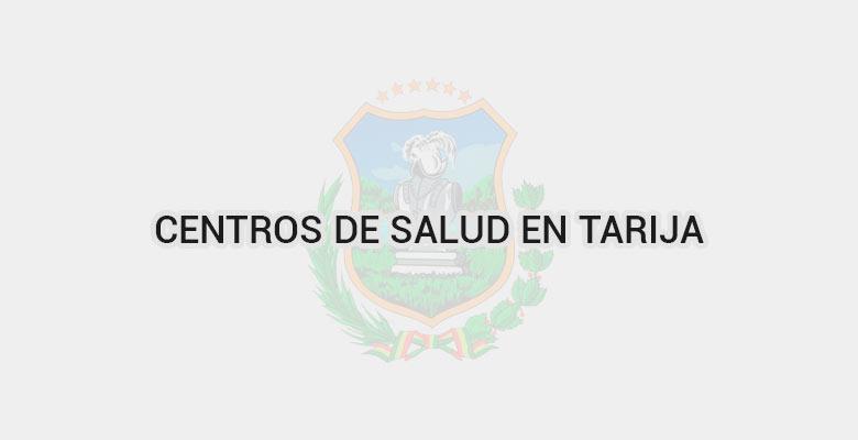 Centros de salud en Tarija