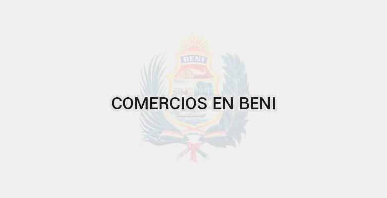 Comercios en Beni