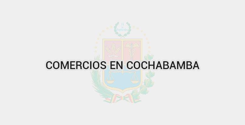 Comercios en Cochabamba