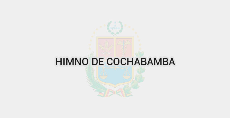 Himno de Cochabamba