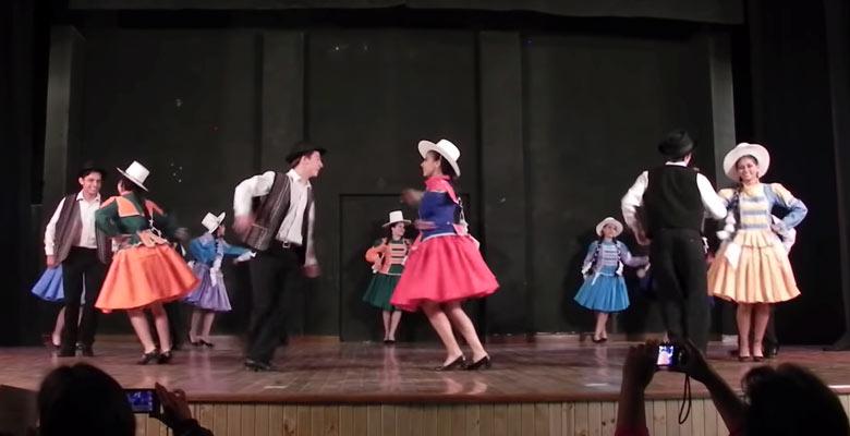 Danza El Huayño