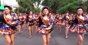 Danza Caporales mujeres