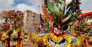 Máscaras Carnaval de Oruro