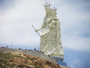 Monumento a la Virgen Candelaria