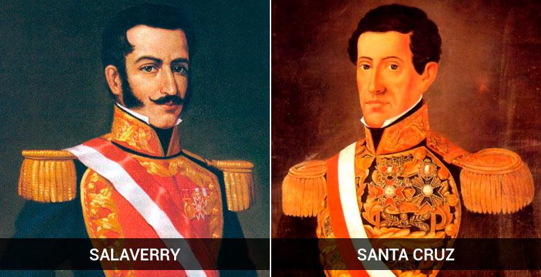Guerra entre Salaverry y Santa Cruz