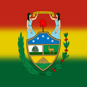 Primer escudo de Bolivia